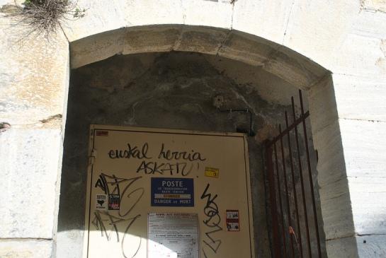 Décidément, les militants de la cause basque sont vraiment passés partout !