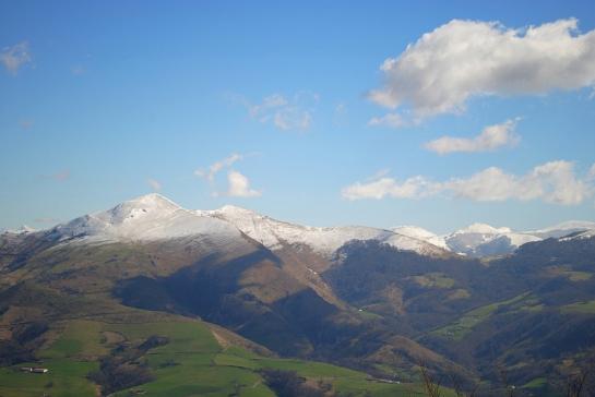 l'Adarza, est de la vallée des Aldudes.