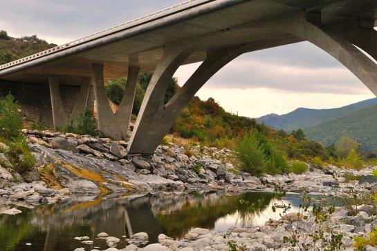 le nouveau pont d'Altiani