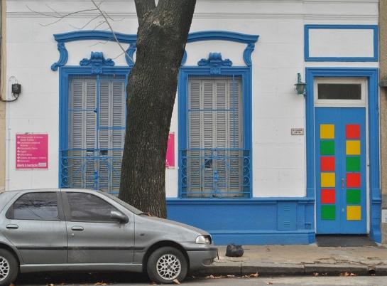 la porte colorée